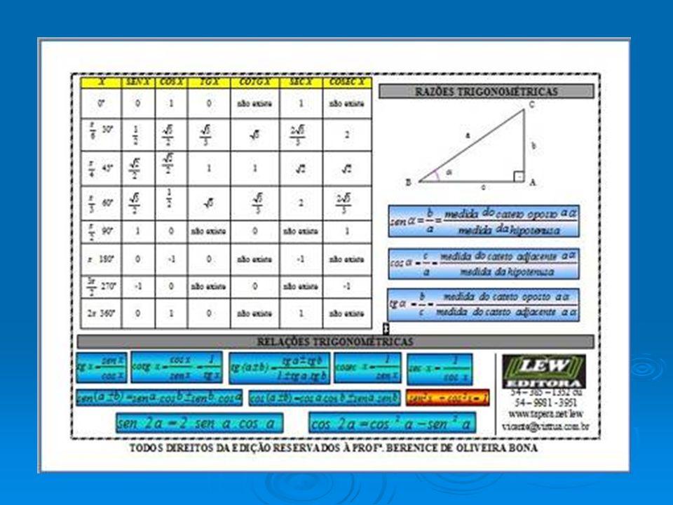 As funções do tipo trigonométricas são escritas na forma a, b, c e d são constantes, com b e c diferentes de zero.