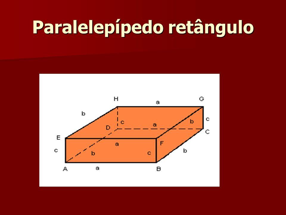 Paralelepípedo retângulo