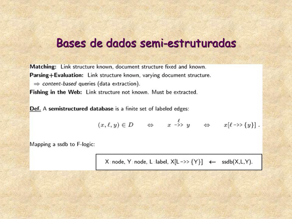 Bases de dados semi-estruturadas