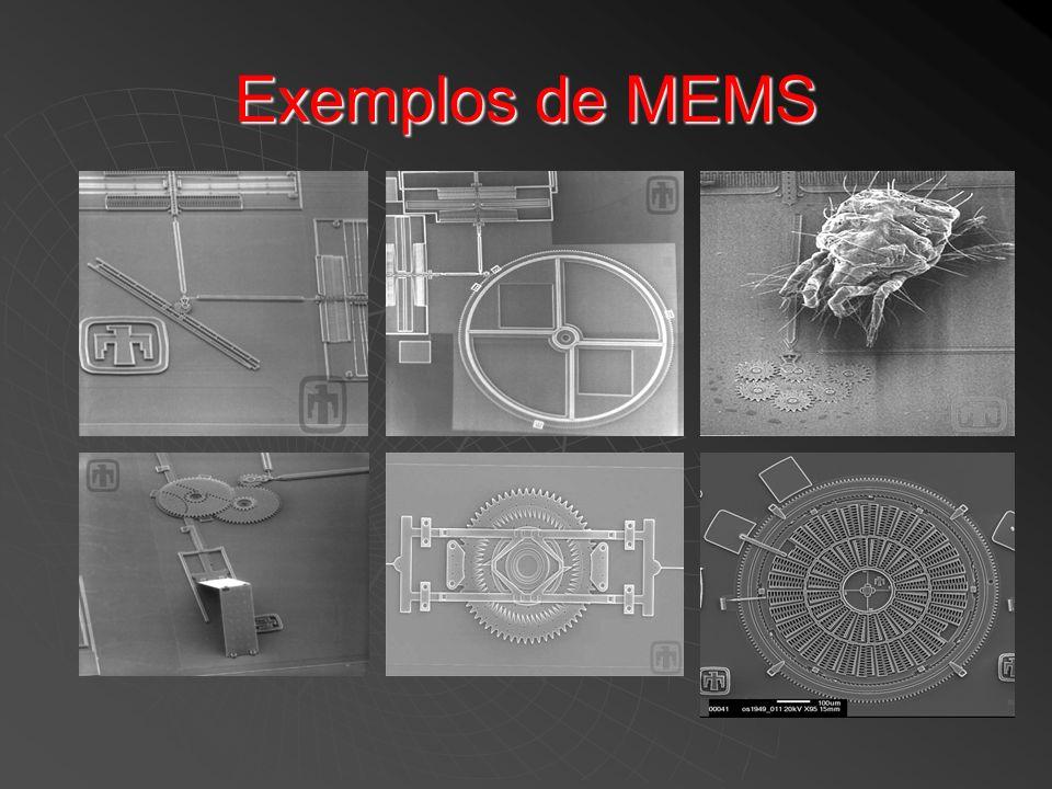 Exemplos de MEMS