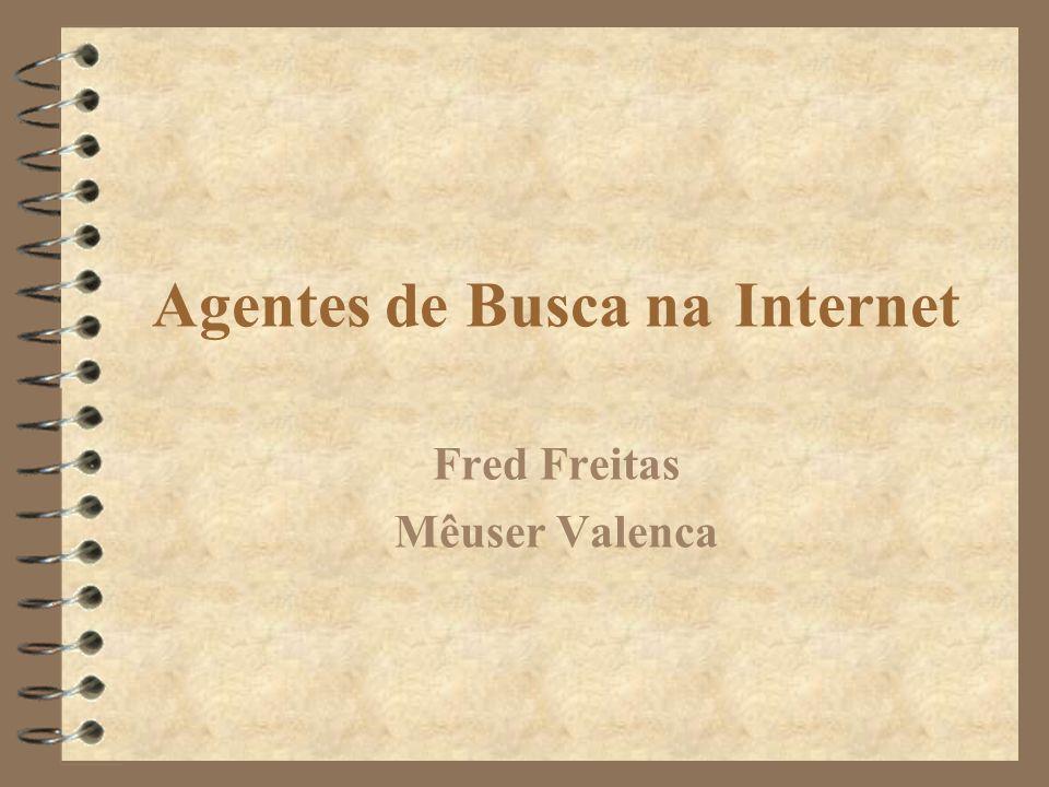 Agentes de Busca na Internet Fred Freitas Mêuser Valenca