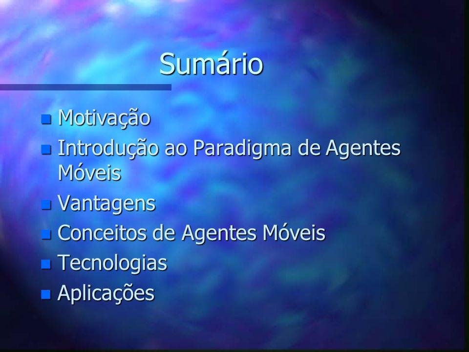 Agentes Móveis Marcelo Bezerra dAmorim
