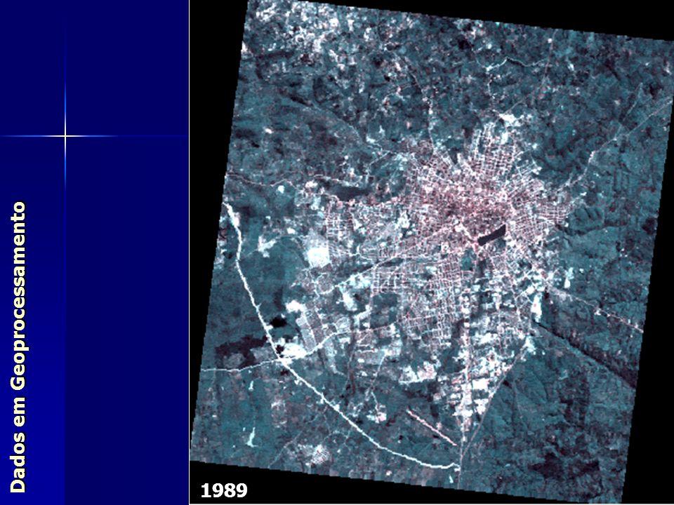 1989 Dados em Geoprocessamento