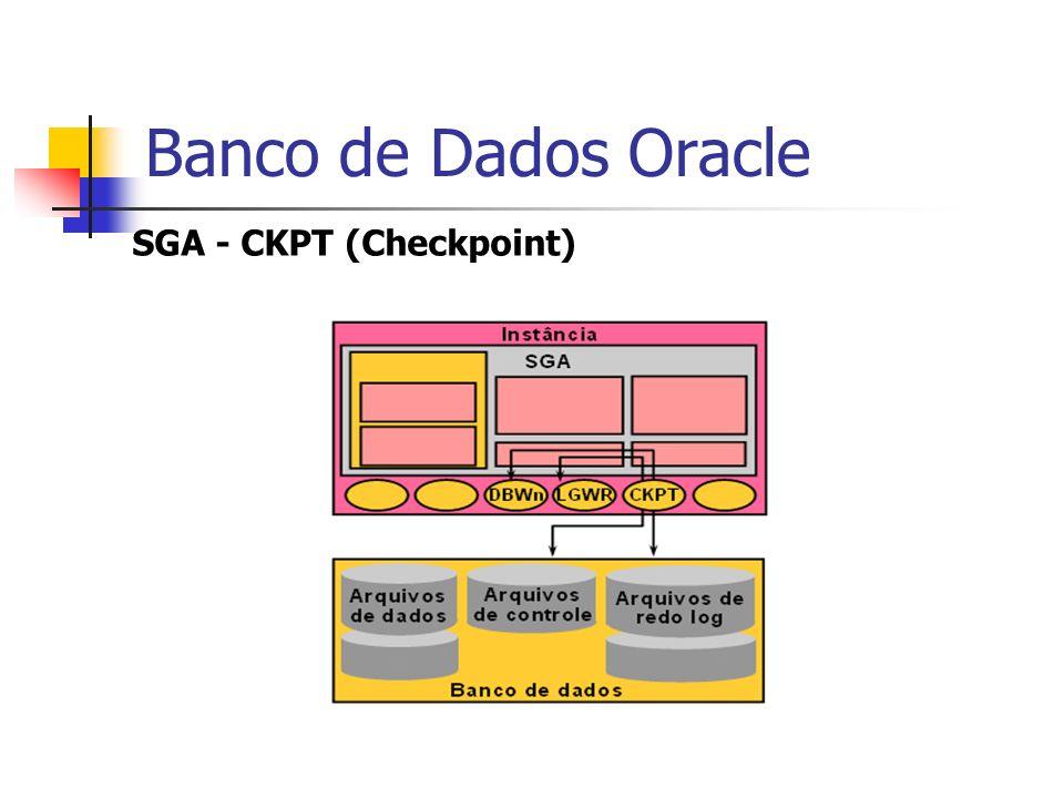 Banco de Dados Oracle SGA - CKPT (Checkpoint)