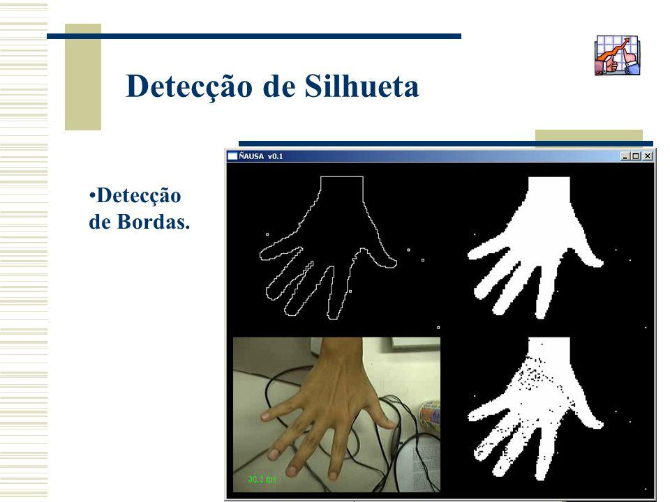 31 Detecção de Silhueta Detecção de Bordas.