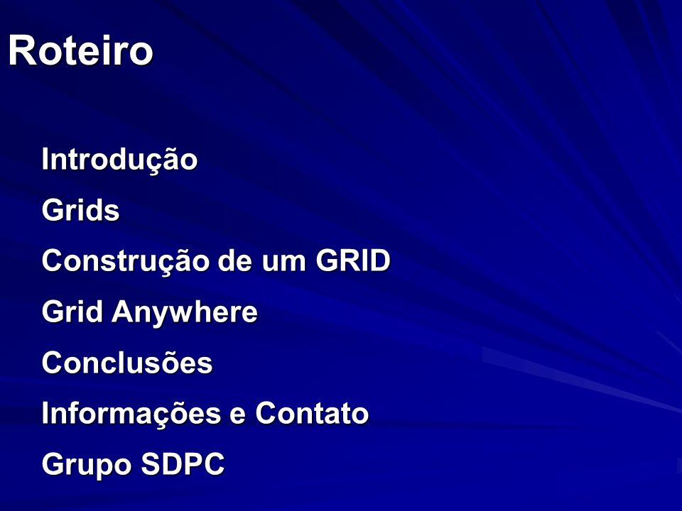 Introdução SD - Modelos Arquiteturais Avançados (Modernos) Estação de Trabalho/Servidor + estações ociosas (link com grids!!!)Estação de Trabalho/Servidor + estações ociosas (link com grids!!!) Orientação ObjetosOrientação Objetos