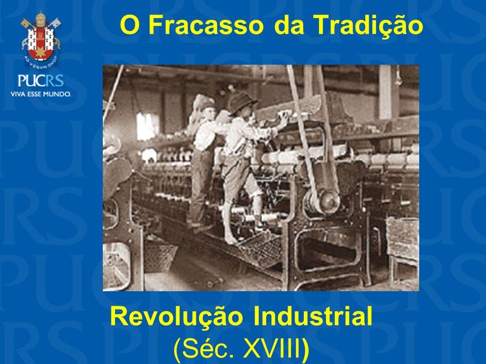 O Fracasso da Tradição Revolução Industrial (Séc. XVIII)