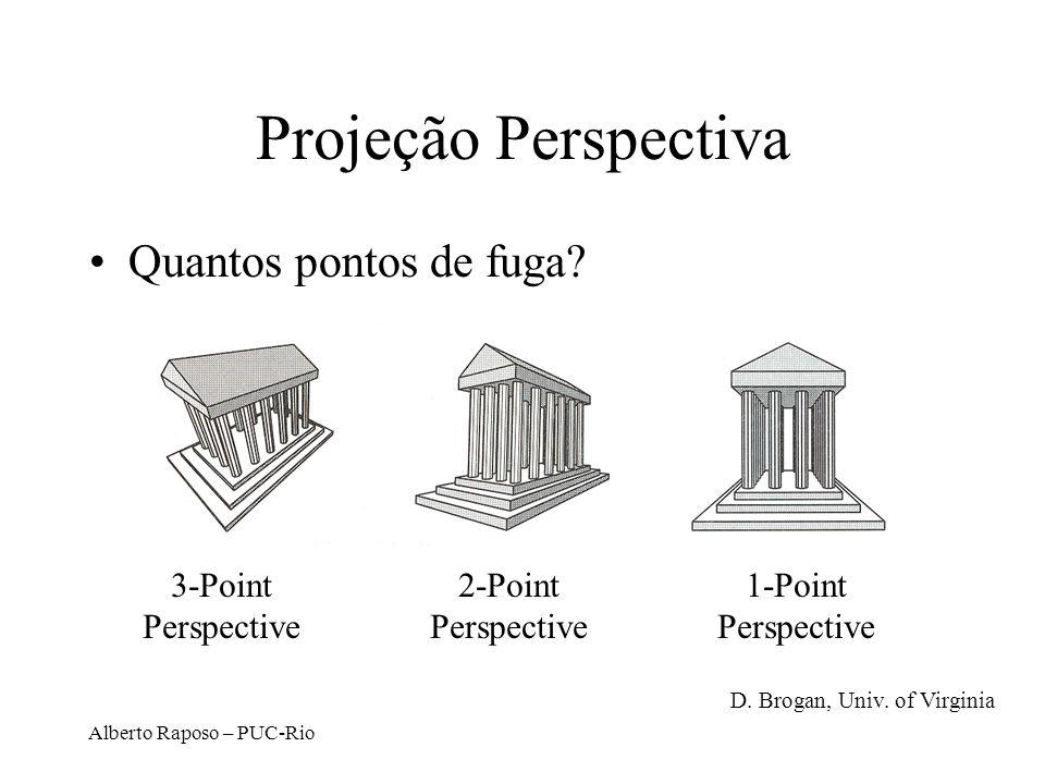 Alberto Raposo – PUC-Rio Projeções Clássicas D. Brogan, Univ. of Virginia