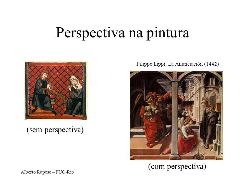 Alberto Raposo – PUC-Rio Projeção Perspectiva 3-Point Perspective 2-Point Perspective 1-Point Perspective Quantos pontos de fuga? D. Brogan, Univ. of