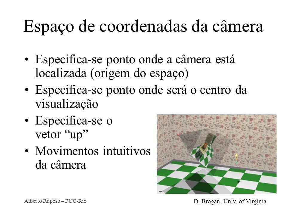 Alberto Raposo – PUC-Rio 2 Passos básicos Translação para alinhar as origens D. Brogan, Univ. of Virginia