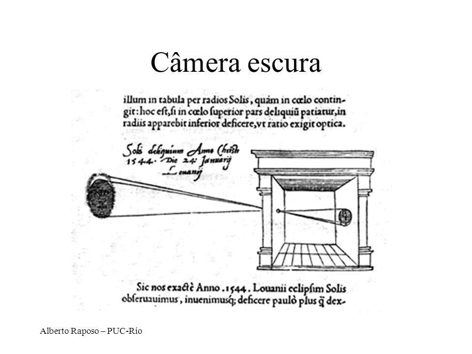 Alberto Raposo – PUC-Rio 2 Passos básicos Alinha-se os sistemas de coordenadas (de câmera e do mundo) por rotação D.