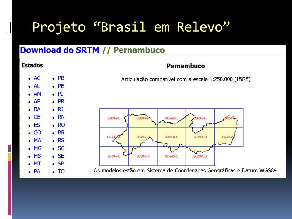 Projeto Brasil em Relevo