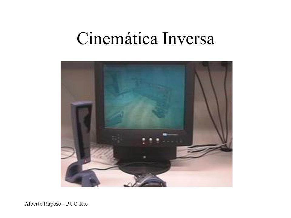 Alberto Raposo – PUC-Rio Cinemática Inversa