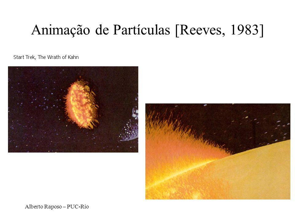 Alberto Raposo – PUC-Rio Animação de Partículas [Reeves, 1983] Start Trek, The Wrath of Kahn