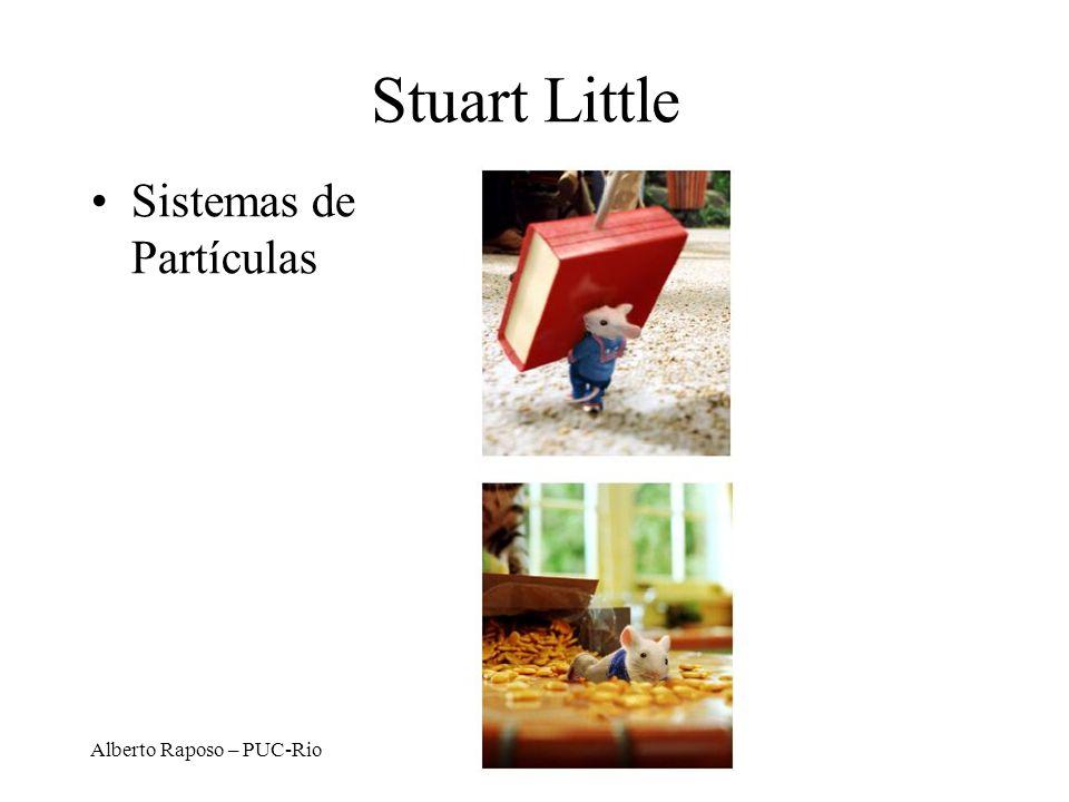 Alberto Raposo – PUC-Rio Stuart Little Sistemas de Partículas