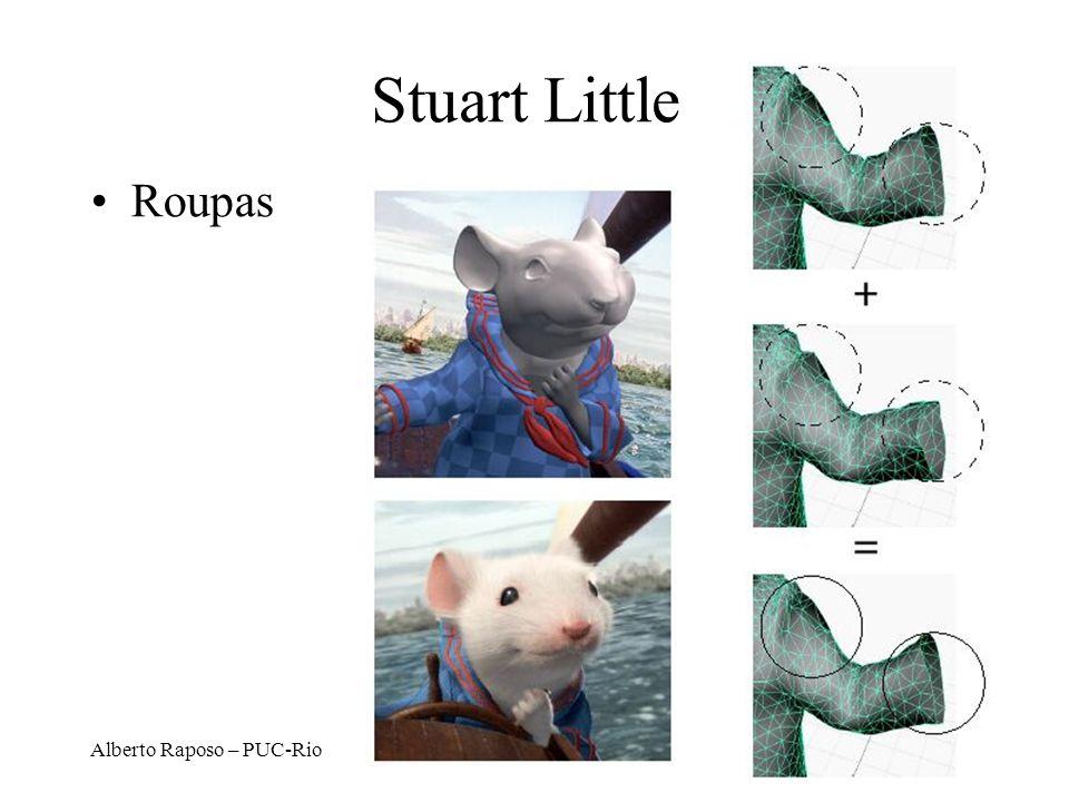 Alberto Raposo – PUC-Rio Stuart Little Roupas