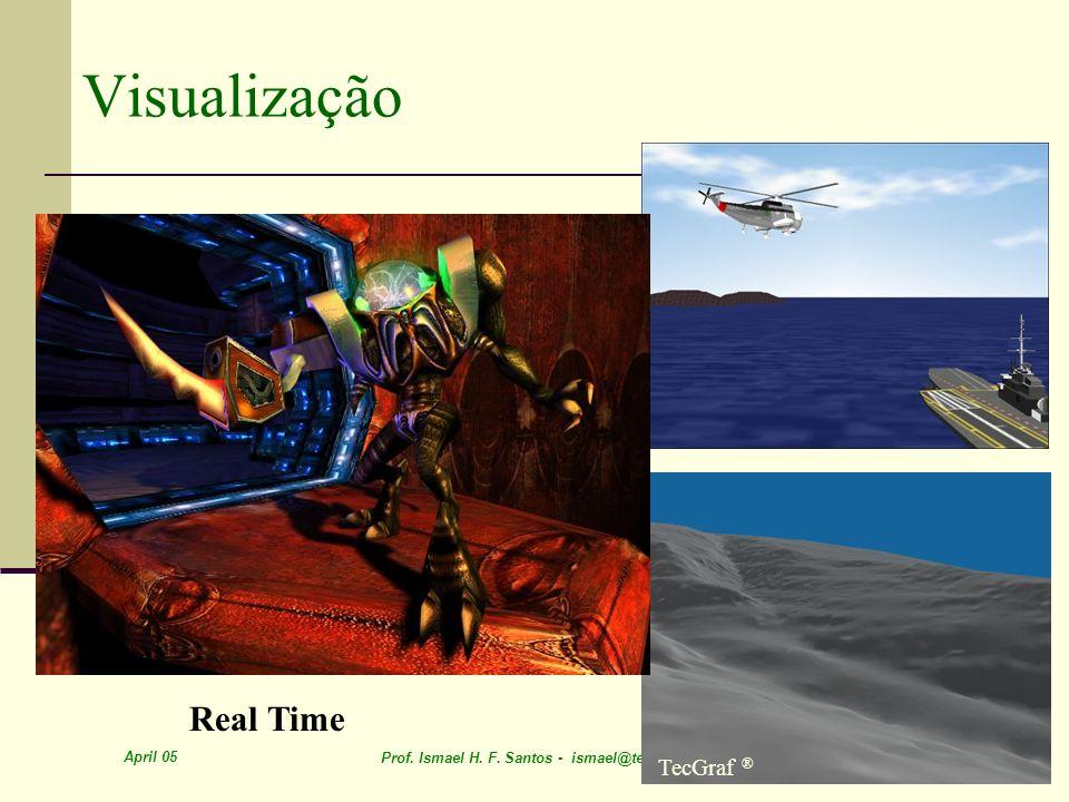 April 05 Prof. Ismael H. F. Santos - ismael@tecgraf.puc-rio.br 13 Visualização Real Time TecGraf ®