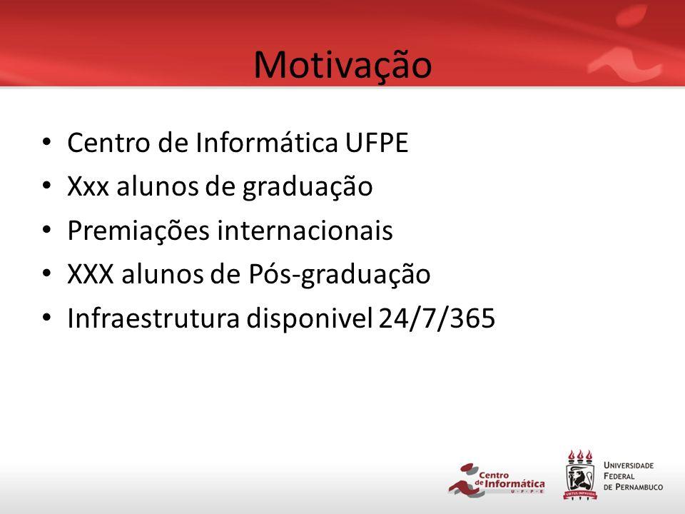 Roteiro Motivação Conceitos CAMPS Aplicação Resultados Trabalhos futuros