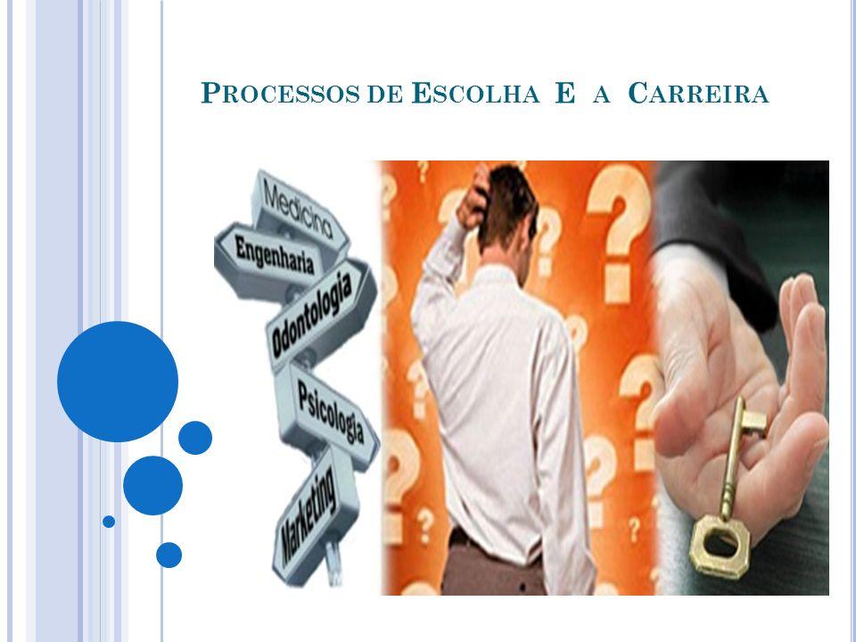CONDIÇÕES FACILITADORAS DA ESCOLHA PROFISSIONAL