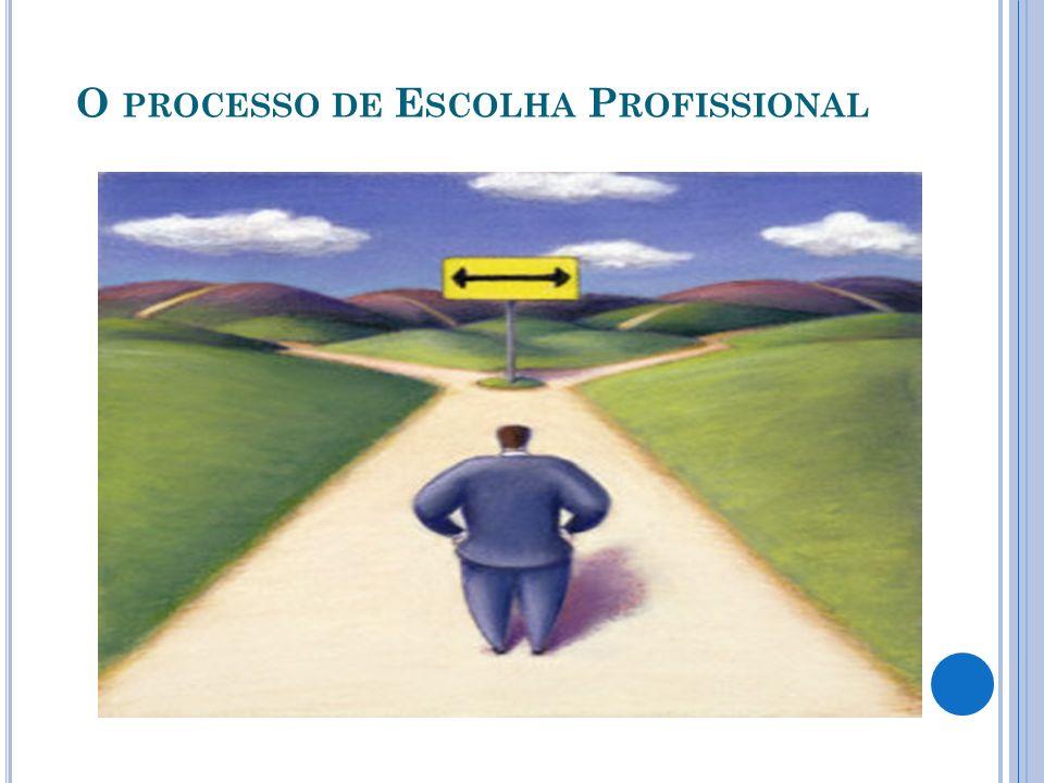 QUAIS AS PRINCIPAIS INFLUÊNCIAS NO PROCESSO DE ESCOLHA PROFISSIONAL: