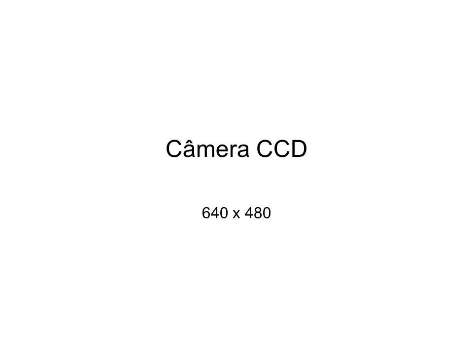 Câmera CCD 640 x 480