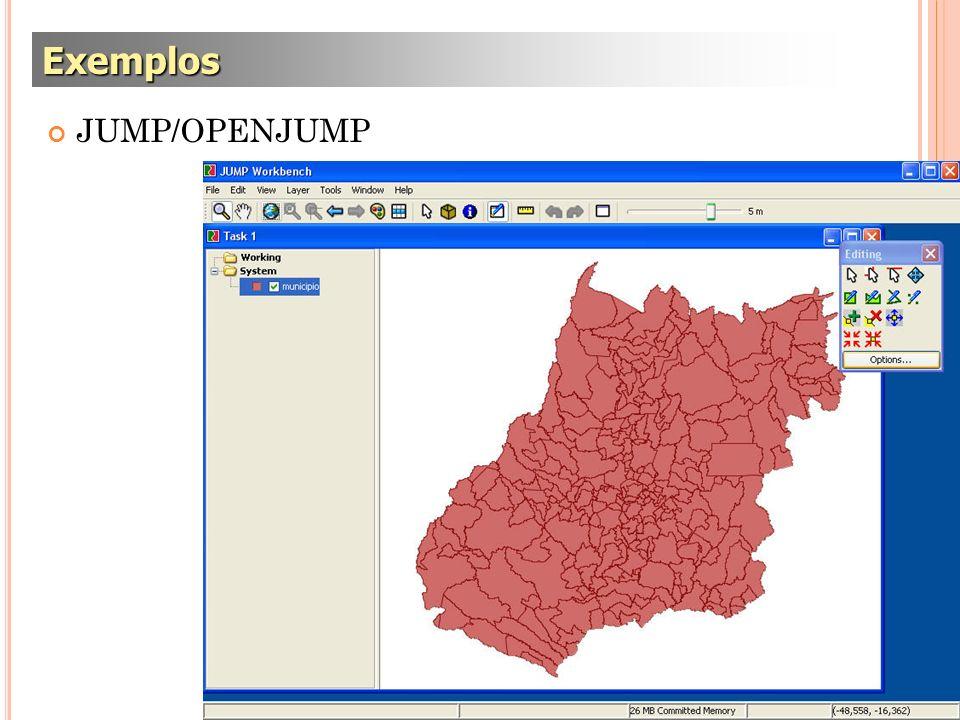 JUMP/OPENJUMP Exemplos