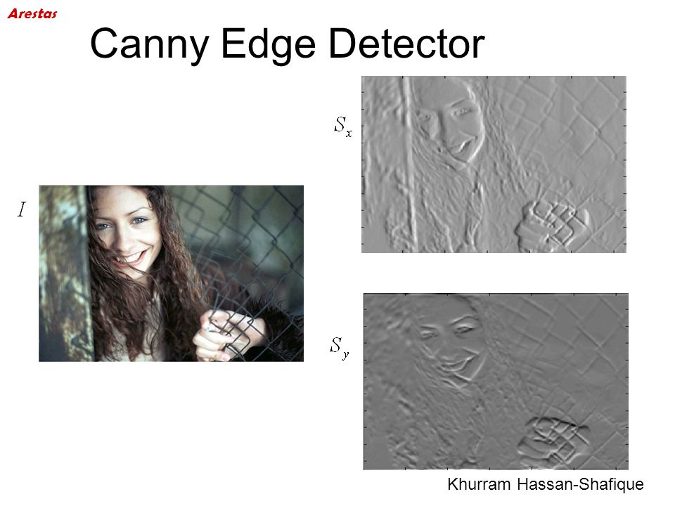 Canny Edge Detector Khurram Hassan-Shafique Arestas