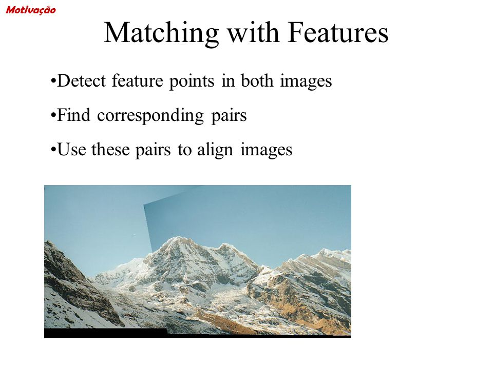 Matching with Features Problem 1: –Detect the same point independently in both images no chance to match.