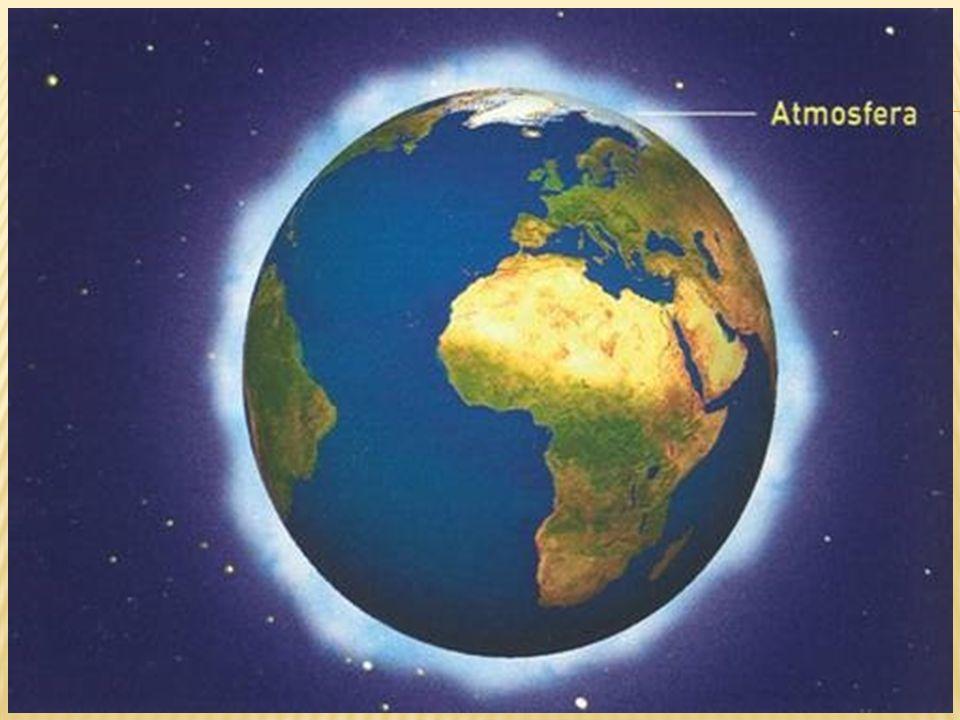 A atmosfera é constituída de vários componentes (gases) que são responsáveis pela manutenção da vida na terra.