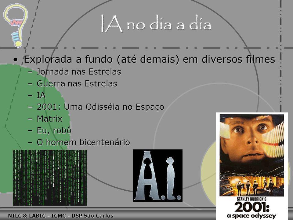 011010 101010 100100 010101 110100 101100 100101 001001 010011 010101 100111 001101 011010 101010 100100 010101 110100 101100 NILC & LABIC - ICMC - USP São Carlos 46 P: você é um programa, não é.