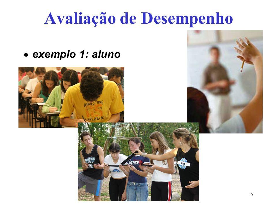 Inf Prof Eng Comp5 Avaliação de Desempenho exemplo 1: aluno