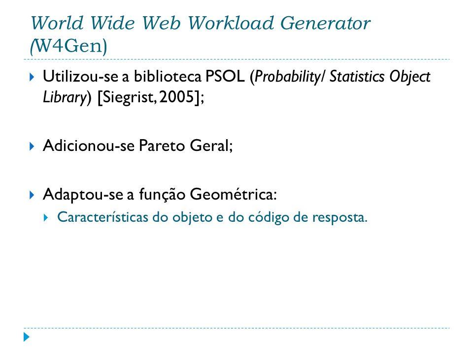 Utilizou-se a biblioteca PSOL (Probability/ Statistics Object Library) [Siegrist, 2005]; Adicionou-se Pareto Geral; Adaptou-se a função Geométrica: Ca