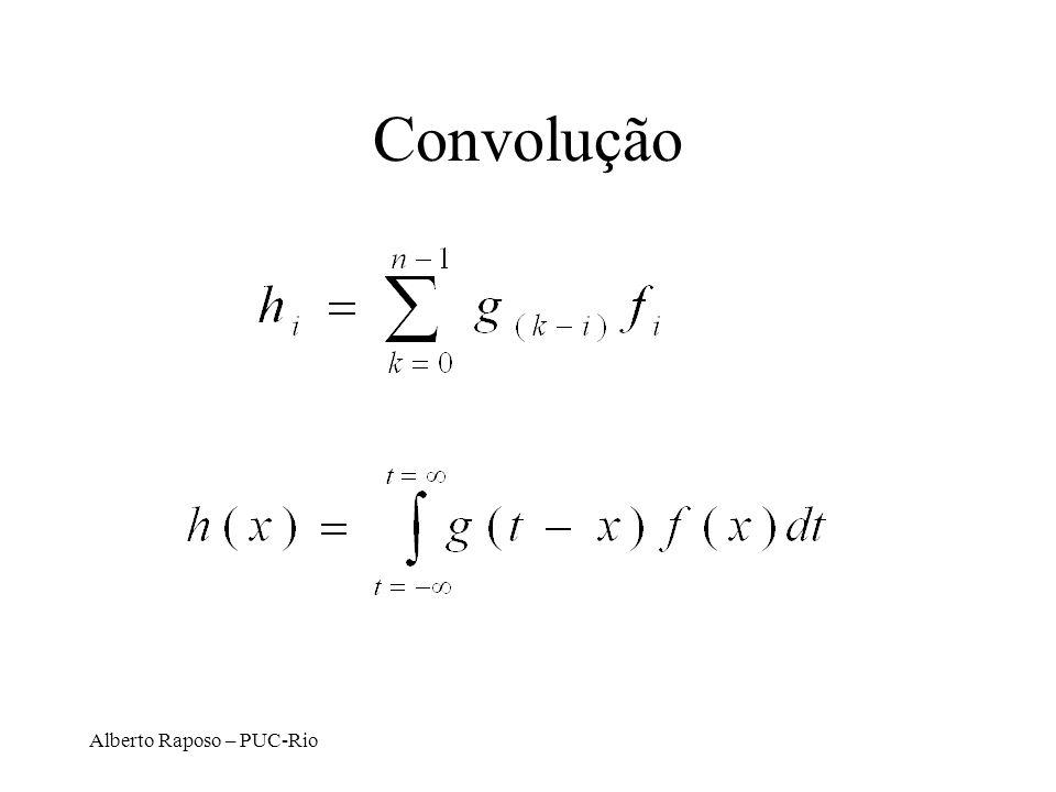 Alberto Raposo – PUC-Rio Convolução