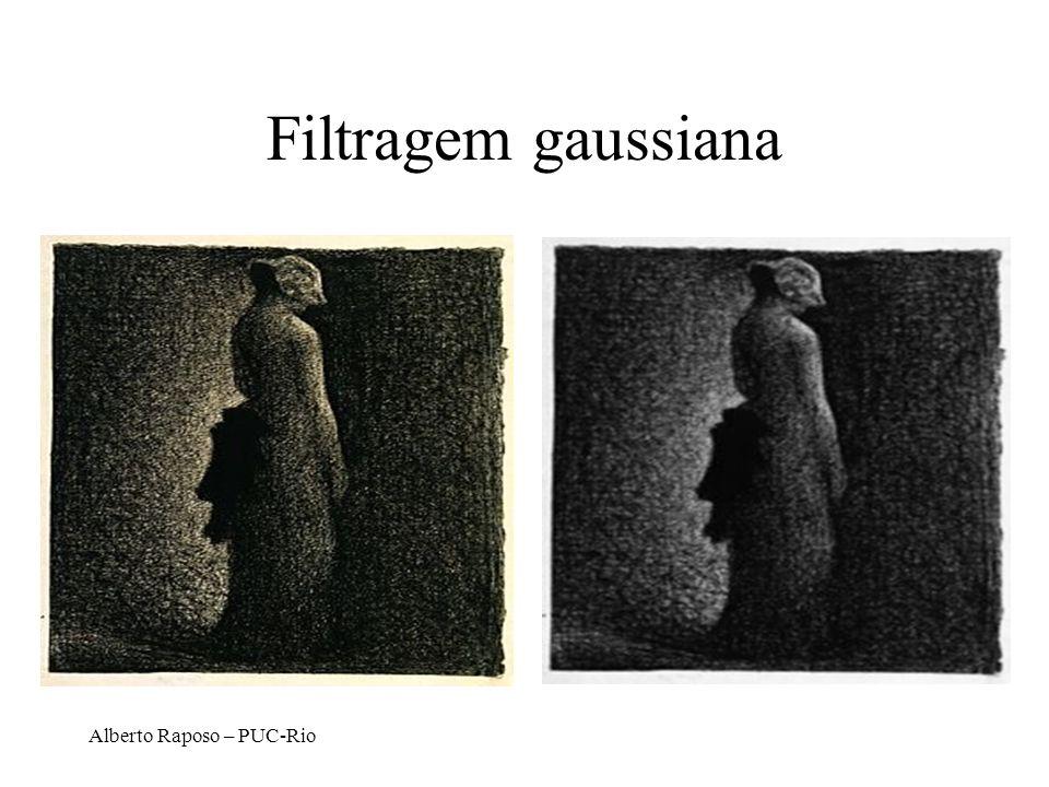 Alberto Raposo – PUC-Rio Filtragem gaussiana