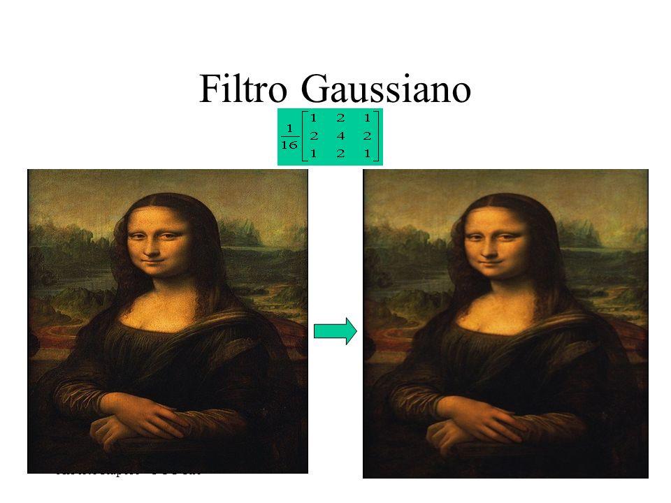 Alberto Raposo – PUC-Rio Filtro Gaussiano