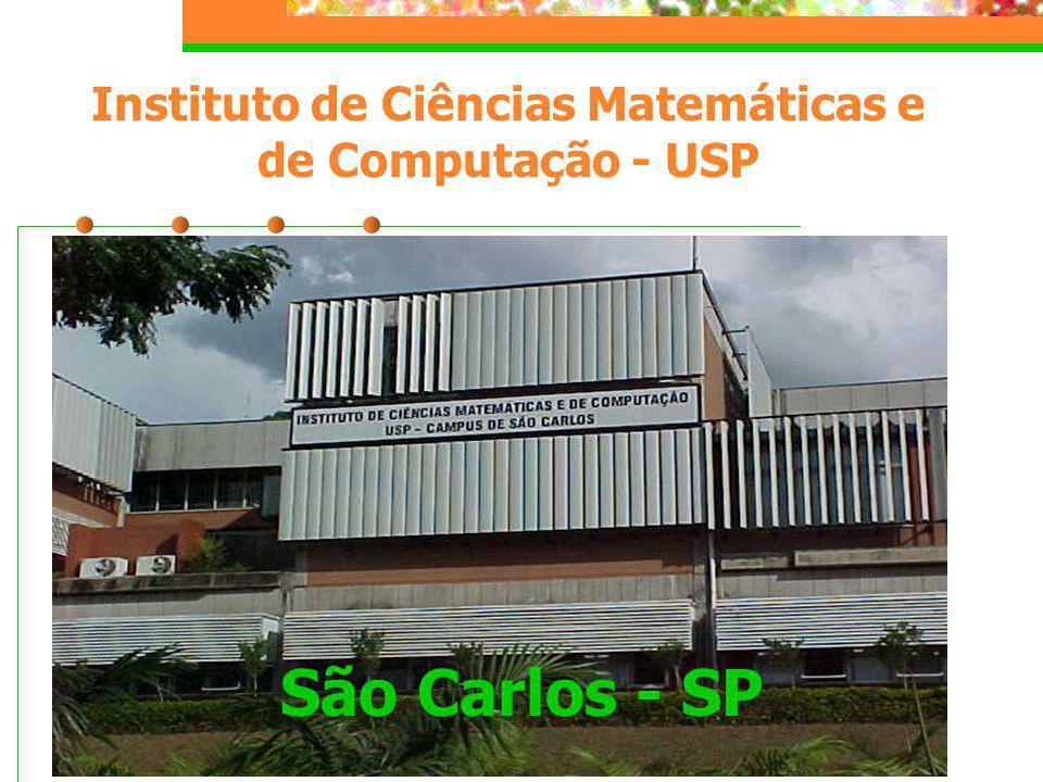 São Carlos - SP Instituto de Ciências Matemáticas e de Computação - USP