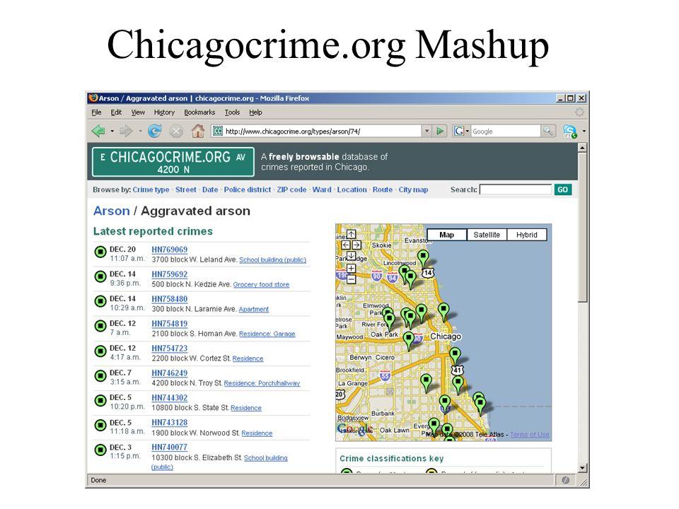 Chicagocrime.org Mashup