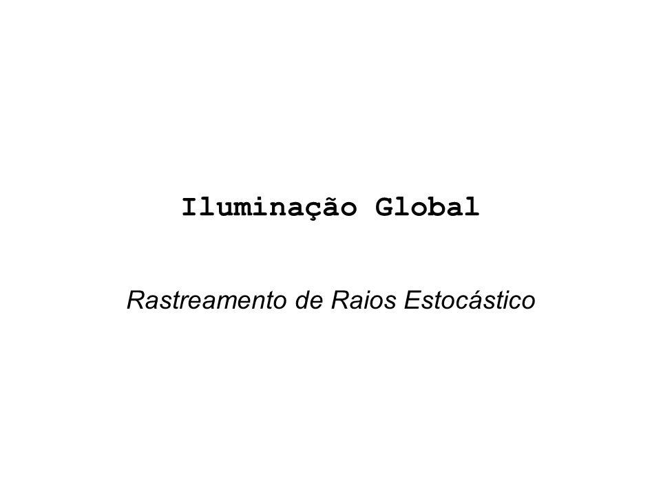 Iluminação Global Rastreamento de Raios Estocástico