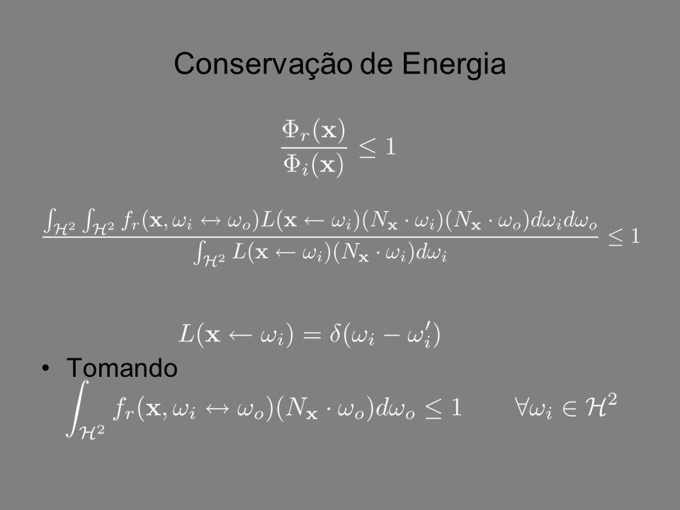 Conservação de Energia Tomando