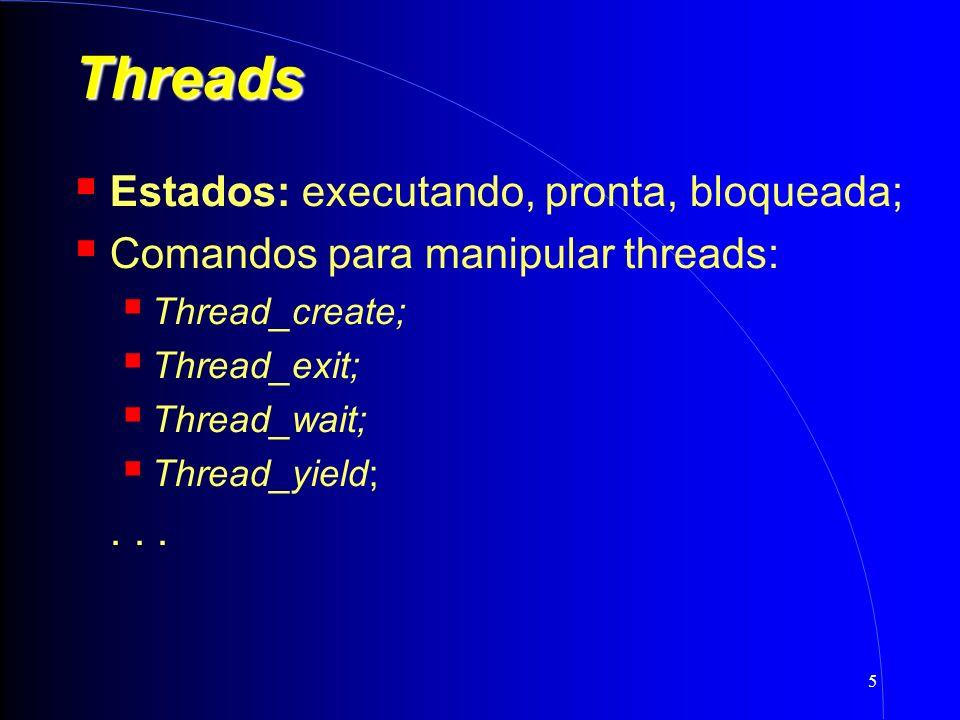 16 Threads de Kernel