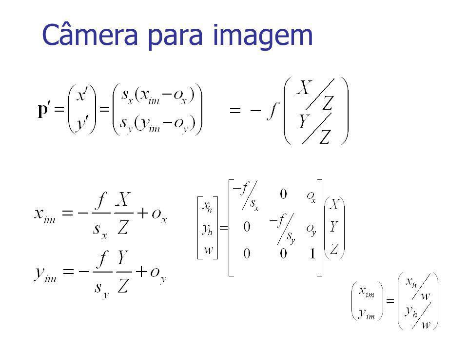 Câmera para imagem