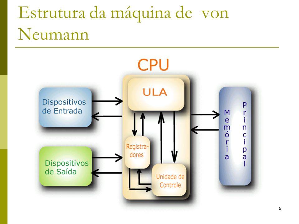 5 Estrutura da máquina de von Neumann