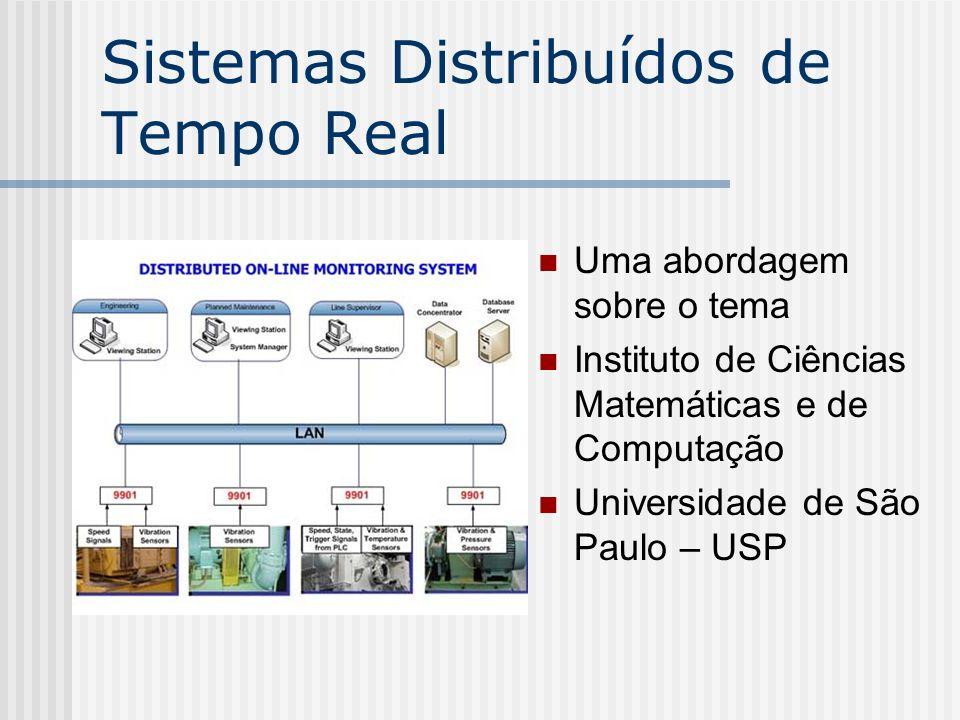 Sistemas Distribuídos de Tempo Real Uma abordagem sobre o tema Instituto de Ciências Matemáticas e de Computação Universidade de São Paulo – USP