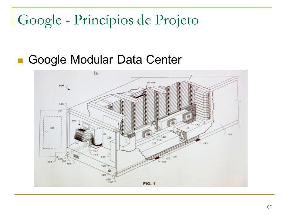 88 Material de consulta Artigo: Web Search for a Planet: The Google Cluster Architecture Luiz Andre Barroso, Google Jeffrey Dean, Google Urs Holzle, Google IEEE Micro Vol 23, No.