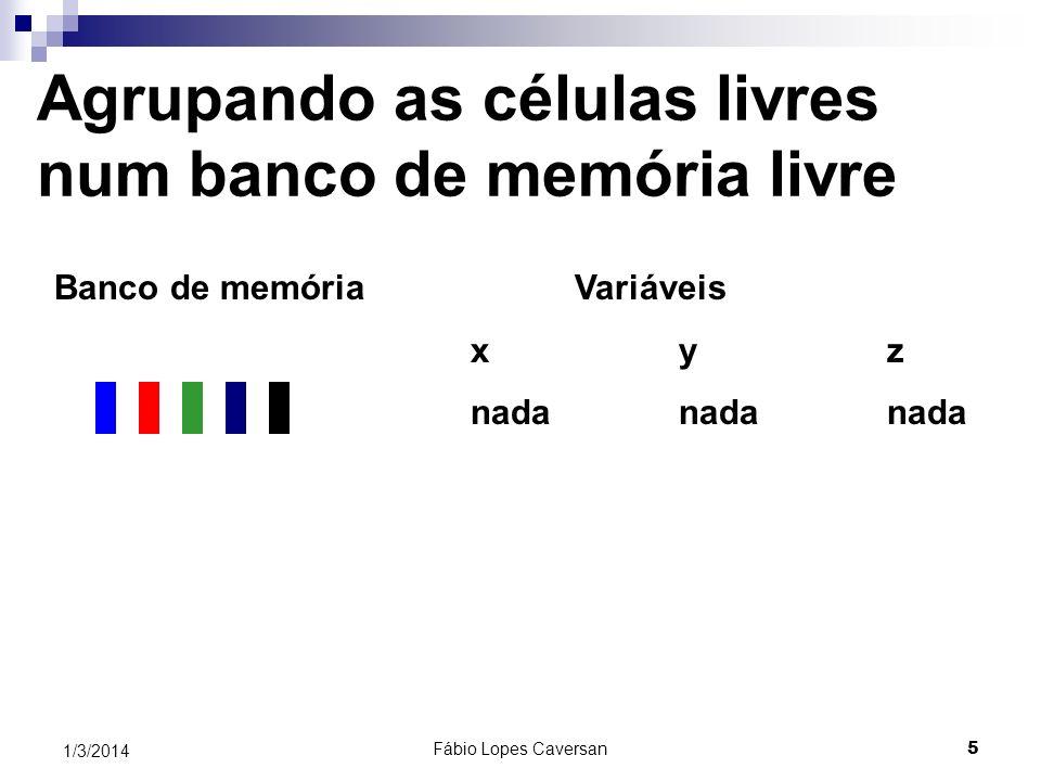 Fábio Lopes Caversan 4 1/3/2014 Fazendo cálculos 100 células seriam necessárias Porém, na inicialização, deve-se usar o tamanho 70 para não ocorrer um