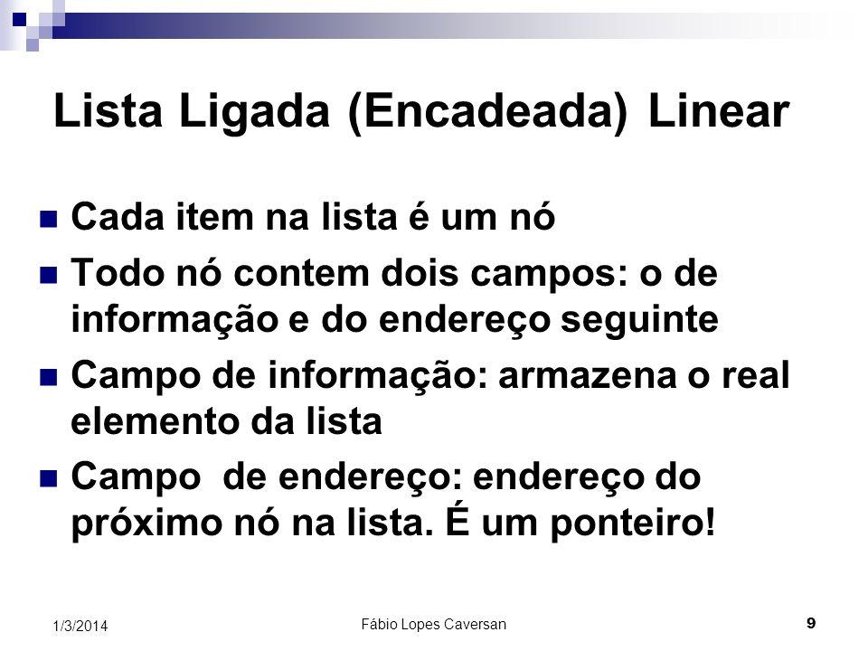 Fábio Lopes Caversan 8 1/3/2014 Considerações importantes A ordem das células de memória disponíveis no banco, no decorrer da execução da aplicação, m