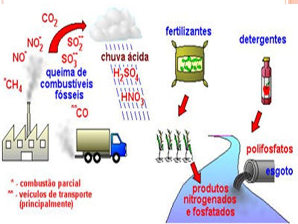 Ciclos Gasosos - o depósito está na atmosfera ou hidrosfera, composto dos seguintes nutrientes: OxigênioReservatório é a atmosfera Carbono Grande reservatório está na hidrosfera, na forma de gás carbônico, embora também esteja presente na atmosfera; NitrogênioReservatório é a atmosfera.
