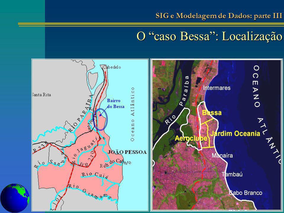 O caso Bessa: Localização Bairro do Bessa SIG e Modelagem de Dados: parte III