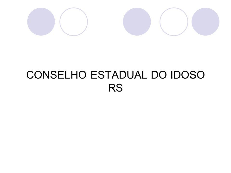 CONSELHO ESTADUAL DO IDOSO RS