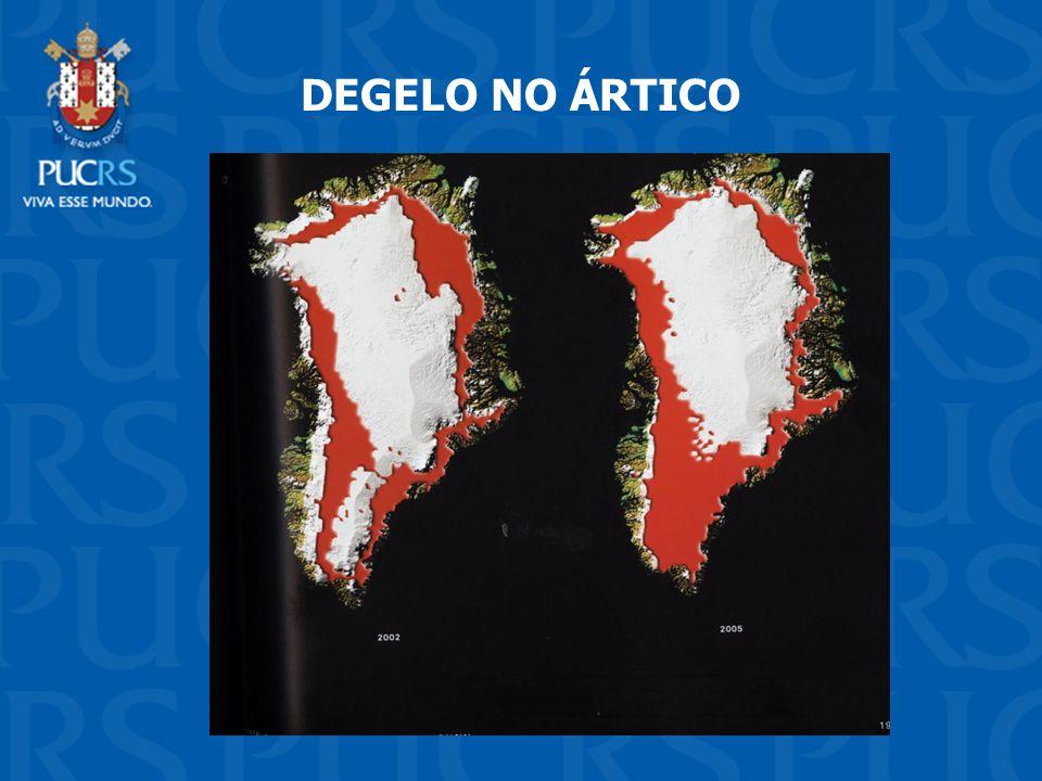 DEGELO NO ÁRTICO